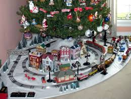 lionel christmas train layout my marx 027 tinplate christmas