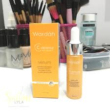 Serum Wardah Lightening Series and lifestyle wardah c defense with vitamin c serum review