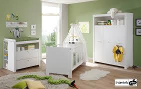 Schlafzimmer Einrichten In Weiss Babyzimmer Olivia Komplett Set 3 Teilig Weiß