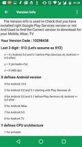 play services apk version play services play store information apk free tools