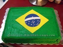 Coolest Country Flags Coolest Flag Of Brazil Cake