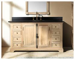 rustic bathroom vanities for a casual country style single