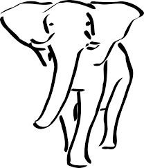31 best circus elephant tattoo outline images on pinterest