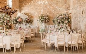 Wedding Decor Almonry Barn Romantic Wedding With Pink Colour Scheme Blush
