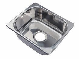 small steel inset single bowl kitchen sink a11 mr amazon co uk