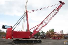 manitowoc 555 150 ton crawler crane crane for sale on cranenetwork com