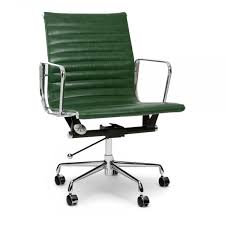 impressive vintage eames desk chair vintage green short back style