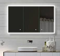 badezimmer spiegelschränke mit beleuchtung alu badschrank badezimmer spiegelschrank bad led beleuchtung 120 x