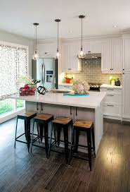 tiny kitchen design ideas gray granite countertops flush mount