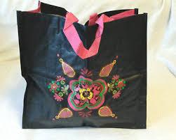 yves rocher siege yves rocher handtasche schwarzbeige chiffonschal einkauftasche neu