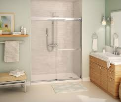 Maax Shower Door Aura Sc Sliding Shower Door 55 59 X 71 In 8mm Maax