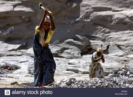india women from the cast of the untouchables working in a quarry