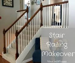 Stair Banisters And Railings Our Stair Railing Makeover Hometalk