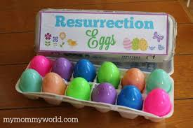 easter resurrection eggs easter crafts for sunday school resurrection eggs my world