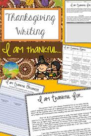 Thanksgiving Writing Prompts First Grade Best 25 Thanksgiving Writing Ideas On Pinterest Examples Of