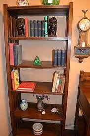 Mission Bookshelves by Mahogany Five Stack Barrister Bookcase With Leaded Glass Top Stack