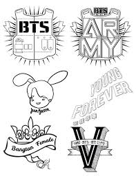 Bts Coloring Pages Army S Amino Coloring Pages Kpop