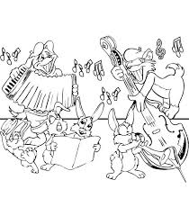 62 coloring pages of musical instruments on kids n fun co uk on