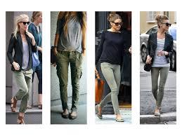 fashion dips khaki corduroy plaid twill pant white for women