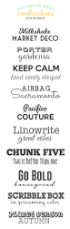 Best Resume Font Combinations by Shoot For The Moon Printable Fonts Craft And Design Cards