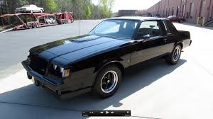 Grand National Engine Specs 1987 Buick Grand National Regal T Type Turbo Start Up Exhaust