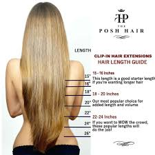 16 Inches Hair Extensions by The Posh Hair Hair Extensions Boutique Full Head Clip In Real