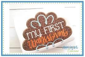 my 1st thanksgiving applique corner my thanksgiving applique design