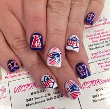 15 best football nails images on pinterest football nails