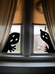 Decoration For Window 137 Best Spooky Windows Images On Pinterest Silhouettes Windows