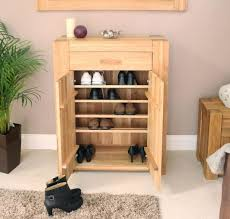 Shoe Cabinet Oak by Furniture Shoe Storage Cabinet Kropyok Home Interior Exterior