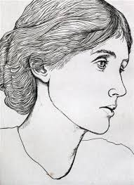 edgar holloway portrait of virginia woolf people pinterest