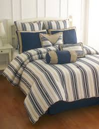 Striped Comforter Blue Striped Pattern Comforter Set Organic Mattresses And Bedding