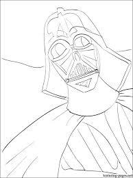 star wars darth vader coloring coloring pages