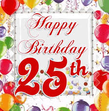 25th birthday card quotes quotesgram 31 best happy birthday cake images on 25th birthday