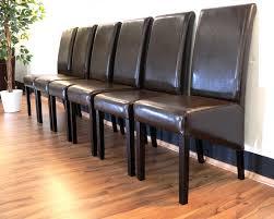stuehle esszimmer lederstühle esszimmer braun häusliche verbesserung esszimmer