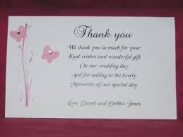 gift cards for wedding is thank you note for wedding gift any seven ways you
