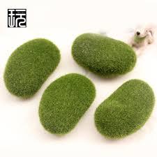 simulation flocking moss stone artificial grass model miniature