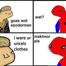 Meme Dolan - macklemore makes fun of spider man s past sorrows in dolan meme