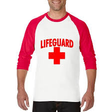 lifeguard red cross matching couples gift beach surfing style w