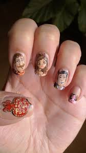 the book of life nails by bbycashflow on deviantart