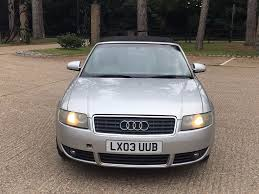2003 audi a4 cabriolet 1 8t manual sport in stoke poges