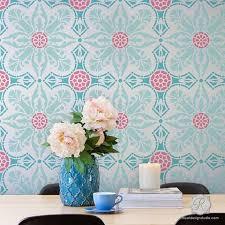Room Diy Decor Wall Stencils For Painting Trendy U0026 Classic Stencils For Diy
