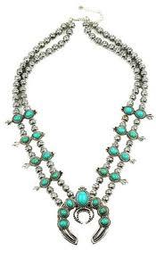 boho statement necklace images Turquoise amulet necklace turquoise squash blossom statement jpg