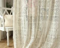 Shabby Chic Curtains For Sale by Sale Shabby Chic Ivory Balloon Curtain Pull Up Panel Fixed