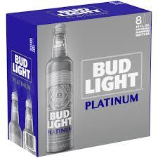 busch light aluminum bottles bud light platinum 8 pack 16 fl oz aluminum bottles walmart com