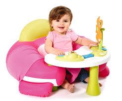 table d activité bébé avec siege smoby 110203 cotoons cosy seat amazon fr jeux et jouets