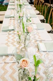 table burlap table decorations beautiful yellow table runners