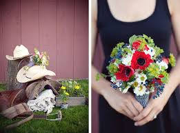 Wedding Flowers Blue And White Red White Blue Wedding Bouquet Once Wed