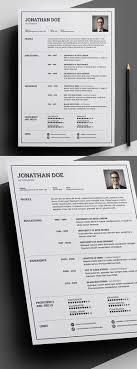 creative free resume templates 23 free creative resume templates with cover letter freebies