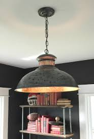 Dome Pendant Light Save Over 800 With This Tutorial Diy Hammered Dome Pendant Light